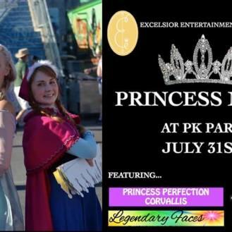 Eugene Emeralds Princess Night at PK Park